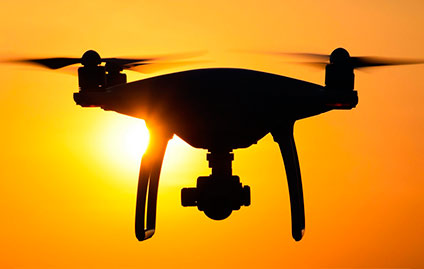 DRONES COMEÇAM A SER USADOS PARA EVITAR ROUBOS DE CARGAS