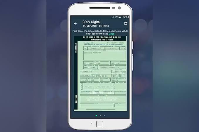 Contran quer CRLV eletrônico até junho
